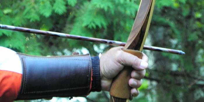 SAS Pioneer Traditional Wood Longbow