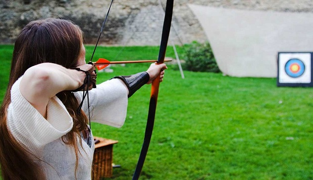 Traditional Archery Shooting