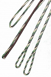 CAMO 3-PLY FLEMISH - Fast Flight Plus - REPLACEMENT RECURVE BOWSTRING