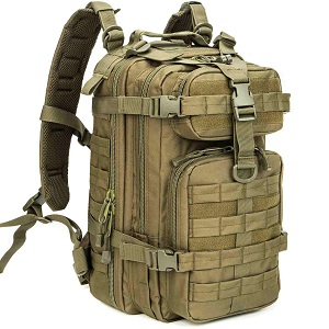 WolfWarriorX Small Military Tactical Backpack